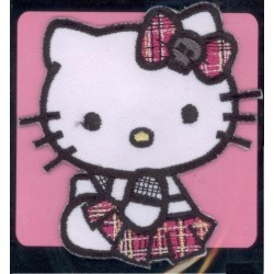 Ecusson Thermocollant  brodé HELLO KITTY 1