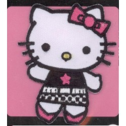 Ecusson Thermocollant  brodé HELLO KITTY 4