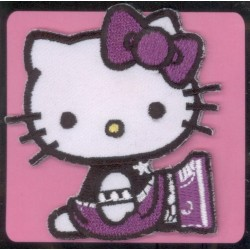 Ecusson Thermocollant  brodé HELLO KITTY 5
