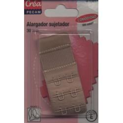 rallonge soutien-gorge couleur peau 30mm 3 hauteurs Créa Pecam