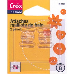 2 attaches maillots de bain  CREA PECAM