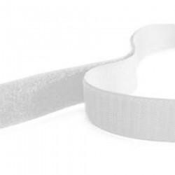 RUBAN auto-agrippant Velcro à coudre ou a coller BLANC 75cmx20mm Créa Pecam
