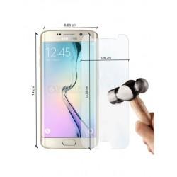 Vitre de protection anti-chocs en verre trempé pour Samsung Galaxy S6 Edge