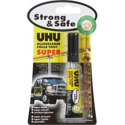 Colle UHU extra forte SANS SOLVANT strong & safe tube 7g