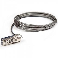 Cable Antivol DEFCON® TARGUS a code 4 chiffres pour ordinateur portable netbook......