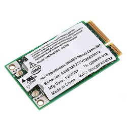 CARTE WIFI MINI-PCI EXPRESS WM3945ABG MOW2 INTEL PRO WIRELESS 3945ABG