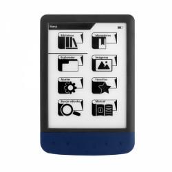 """E-BOOK Liseuse numérique Woxter Scriba 190 Pearl 6"""" bleu"""