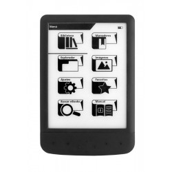 """E-BOOK Liseuse numérique Woxter Scriba 190 Pearl 6"""" NOIR"""