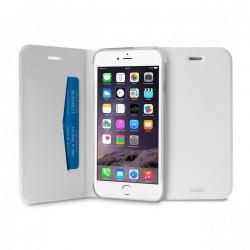 Etui Portefeuille pour iPhone 6 Plus / 6S Plus - Blanc