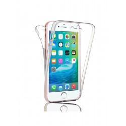 Coque intégrale transparente 360° Ultra Slim en silicone souple pour iPhone 6/6S