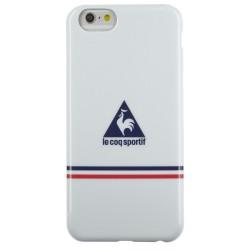 Coque souple Le Coq Sportif blanche pour Apple iPhone 5/5S