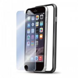 BUMPER PROTECTION ET FILM PROTECTEUR pour Apple iPhone 6 PLUS NOIR