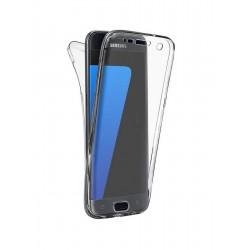 Coque intégrale transparente 360° Ultra Slim en silicone souple pour Samsung Galaxy A5 2016