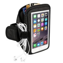 Brassard sport pour smartphone Noir