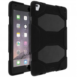 Coque Antichoc protection INTEGRALE avec support  pour Apple iPad Air 2 NOIR