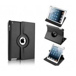 Housse Etui simili cuir avec Support Rotatif pour Apple iPad 2, 3, 4 et Retina