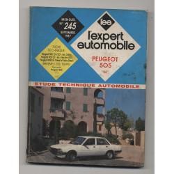 REVUE TECHNIQUE L'EXPERT AUTOMOBILE N° 245 Peugeot 505