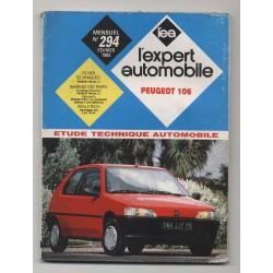 REVUE TECHNIQUE L'EXPERT AUTOMOBILE N°294 Peugeot 106