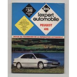 REVUE TECHNIQUE L'EXPERT AUTOMOBILE N°346  Peugeot 406 E D TD