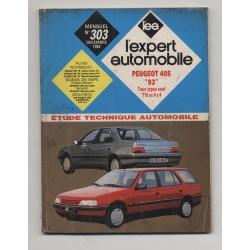 REVUE TECHNIQUE L'EXPERT AUTOMOBILE N°303 Peugeot 405 tous types