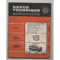 Revue Technique Automobile No 342 Renault 5 LS, Simca 1000 et Mercedes