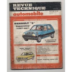 Revue Technique Automobile No 458 Renault SUPER 5 FORD FIESTA