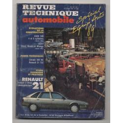 Revue Technique Automobile No 508 RENAULT 21 moteur 2 l Audi 100  FIAT