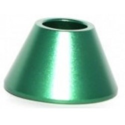 SOCLE SUPPORT METAL CONIQUE E-CIGARETTE VERT