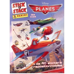 ALBUM PANINI STICKERS PANINI DISNEY PIXAR PLANES STICK & STACK