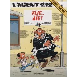 BD L'Agent 212 Vol. 16 FLIC...AIE! SERIE LIMITE