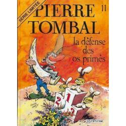 BD PIERRE TOMBAL Tome 11 La défense des os primés  SERIE LIMITE AN 2000