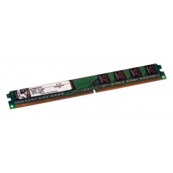 Kingston 1Go DDR2 800MHz PC2-6400 Non-ECC CL6 DIMM 240-Pin Low Profile