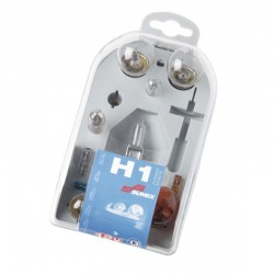 Coffret de secours AMPOULE HOMOLOGUE H-1 12V TYPE H1