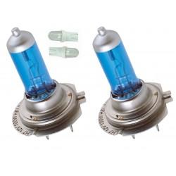 Kit Ampoules spectra H7 2 ampoules 100w 2 veilleuse bleu T10/5w