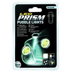 2 lampes led étanches ECLAIRAGE SOUS RÉTROVISEURS Éclairage blanc 12v