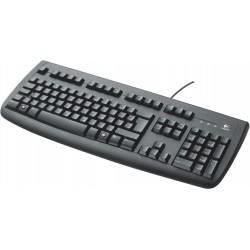 Clavier AZERTY FRANCAIS Logitech Deluxe 250 Keyboard NOIR