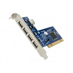 carte USB PCI Belkin USB 2.0 4 Ports + 1 interne