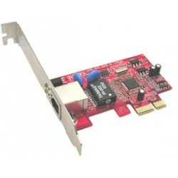 Carte RESEAU LYCOM PE-106 PCI-Express GigaLAN 1000BASE-T Ethernet