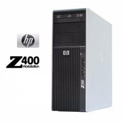 STATION TRAVAIL HP Z400 XEON QUAD CORE W3565 4 GO 500 GO ATI Radeon HD 5450 DVDRW