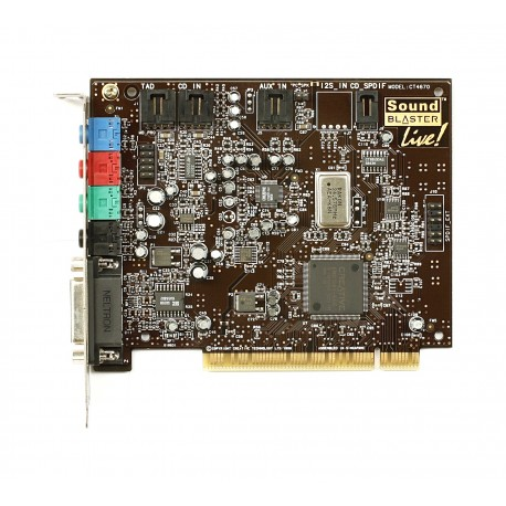 Creative Labs Sound blaster Live Value CT4670