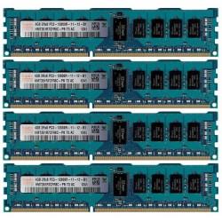 KIT MEMOIRE 16 GO HYNIX 4x4 Go DDR3-1600 ECC PC3-12800R