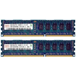 KIT MEMOIRE 4 GO HYNIX 2 x 2 Go DDR3-1333 ECC PC3-10600R