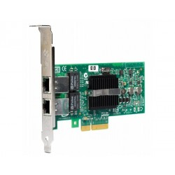 Carte RESEAU HP NC360T 1000Base-T Dual Port Server 2 ports ethernet Gigabit PCIe x4