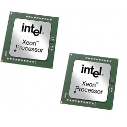 2 processeurs INTEL XEON 3066DP SL6VP 3.06Ghz 512ko 533Mhz Socket 604