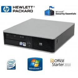 PC HP SFF DC7900 Core 2 Duo E8400 2 GO HDD 160 GO GRAVEUR DVD WINDOWS 7 PRO