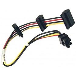 Câble alimentation ATX 4-Pin vers 3x SATA pour HP Elite 8000 8080 8100 8200 35 cm