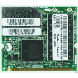 carte WIFI Dell DW1450 Wireless Broadcom 802.11G