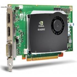 CARTE VIDEO NVIDIA Quadro FX 580 512MB Dual DisplayPort DVI PCI Express