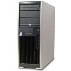 STATION TRAVAIL HP XW4600 CORE 2 E6550 4 GO 160 GO RADEON 2400 proDVDRW