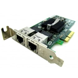 Carte RESEAU IBM INTEL PRO 1000 PT Dual Port 2 ports Gigabit PCIe x4  39Y6127 LOW PROFILE